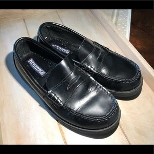 Boys Sperry Topsider Loafers EUC